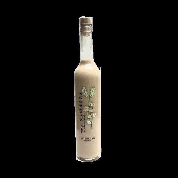 botella crema de orujo artesano licor casero