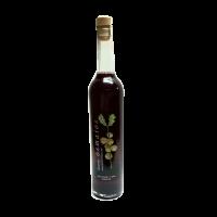 botella orujo artesano de arándanos licor casero