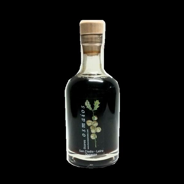 botella orujo artesano de café licor casero