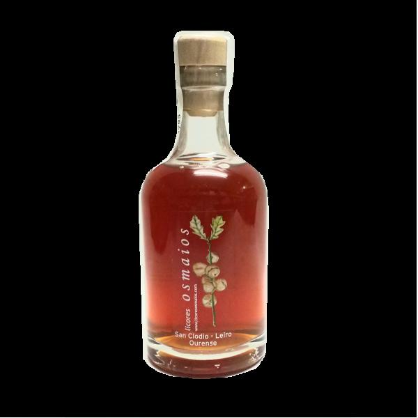 botella orujo artesano de canela licor casero