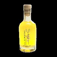 botella orujo artesano de hierbas licor casero