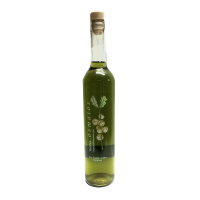 botella orujo artesano de menta licor casero