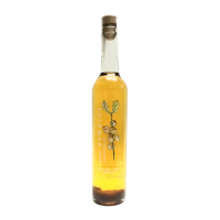 botella orujo artesano de miel licor casero
