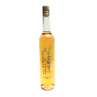 botella orujo artesano de naranja casero