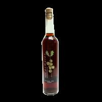 botella orujo artesano de nuez casero