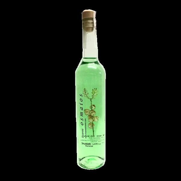 botella orujo artesano de ruda casero