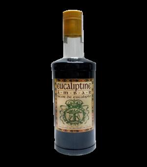 botella de licor de eucalipto