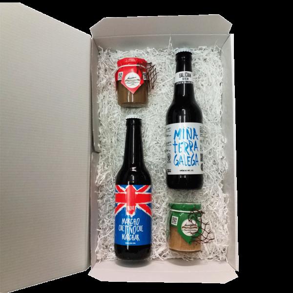 surtido-productos-gallegos-petisco-cerveza-artesana-pate-natural