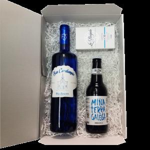 surtido-productos-gallegos-morriña-albariño-cerveza-conserva