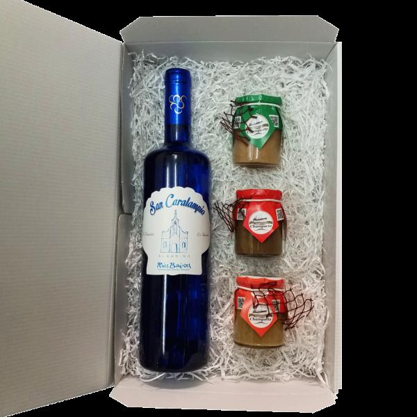surtido-productos-gallegos-albariño-pate-artesano